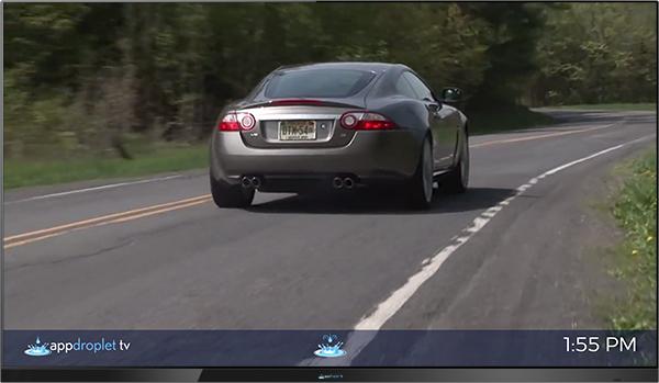 Auto Dealer Digital Signage Marketing Appdroplet TV