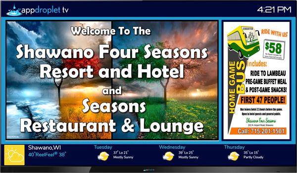 appdroplet TV - Hotel Lobby