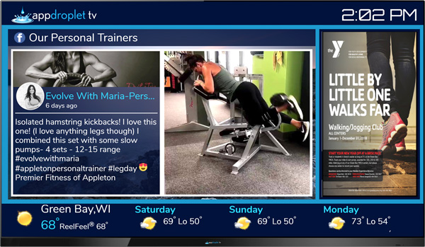 Appdroplet TV Personal Trainers